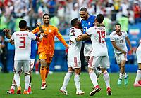 Iran celebration end of the match<br /> Saint Petersburg 15-06-2018 Football FIFA World Cup Russia  2018 <br /> Morocco - Iran / Marocco - Iran <br /> Foto Matteo Ciambelli/Insidefoto
