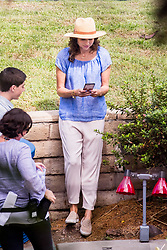 EXCLUSIVE: Minnie Driver plays miniature golf on set of 'Speechless' in Los Angeles, CA. 13 Sep 2017 Pictured: Minnie Driver. Photo credit: MEGA TheMegaAgency.com +1 888 505 6342