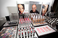 Mirabella Beauty Products Owner and President John Maly in his office in Santa Clarita, CA. January 21, 2011.