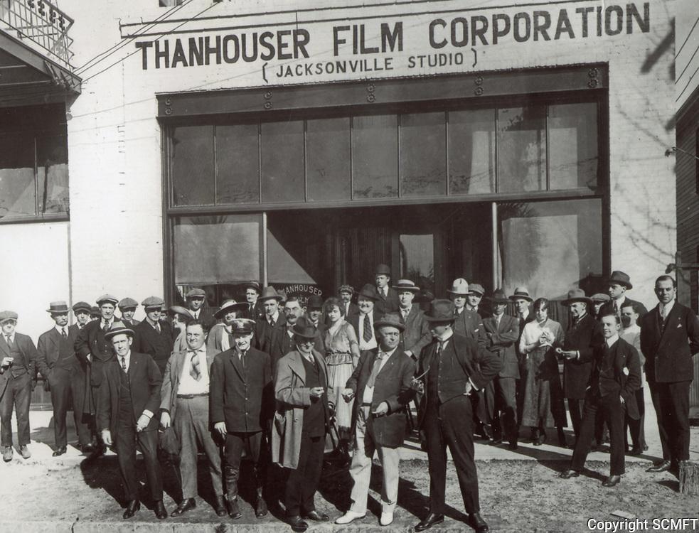1912 Thanhouser Studio's winter studio in Jacksonville, Florida