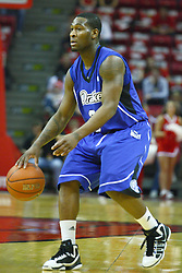 30 January 2011: Kurt Alexander during an NCAA basketball game between the Drake Bulldogs and the Illinois State Redbirds. The Redbirds win in OT 77-75 after a last three point shot by Drake was ruled too late at Redbird Arena in Normal Illinois.