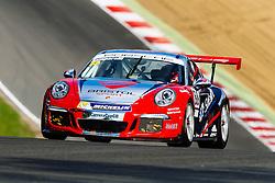 Dino Zamparelli | Bristol Sport Racing | #88 Porsche 911 GT3 Cup Car | Porsche Carrera Cup GB | Race 1 - Mandatory byline: Rogan Thomson/JMP - 07966 386802 - 11/10/2015 - MOTORSPORT - Brands Hatch GP Circuit - Fawkham, England - BTCC Meeting Day 2.