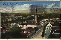 """Zagreb : Kaptol i Nova Ves. <br /> <br /> ImpresumZagreb : """"Papirna"""" H. Ruždija [1934].<br /> Materijalni opis1 razglednica : tisak ; 9 x 14 cm.<br /> NakladnikPapirna H. Ruždija<br /> Mjesto izdavanjaZagreb<br /> Vrstavizualna građa • razglednice<br /> ZbirkaGrafička zbirka NSK • Zbirka razglednica<br /> Formatimage/jpeg<br /> PredmetZagreb –– Kaptol<br /> Samostan sv. Franje (Zagreb)<br /> SignaturaRZG-KAP-40<br /> Obuhvat(vremenski)20. stoljeće<br /> NapomenaRazglednica je putovala 1934. godine.<br /> PravaJavno dobro<br /> Identifikatori000955407<br /> NBN.HRNBN: urn:nbn:hr:238:256317 <br /> <br /> Izvor: Digitalne zbirke Nacionalne i sveučilišne knjižnice u Zagrebu"""