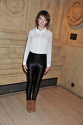 DAKOTA BLUE RICHARDS at Cirque du Soleil's VIP night of Kooza held at the Royal Albert Hall, London on 8th January 2013.