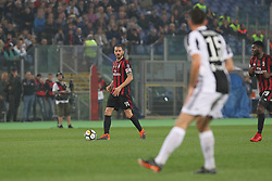 May 9, 2018 - Rome, Lazio, Italy - Leonardo Bonucci (AC Milan) during the Italian Cup final match between Juventus FC and AC Milan at Stadio Olimpico on May 09, 2018 in Rome, Italy. .Juventus won 4-0 over Milan. (Credit Image: © Massimiliano Ferraro/NurPhoto via ZUMA Press)