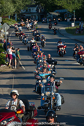 "21st Annual POW/MIA Freedom Ride, ""THE RIDE TO THE ROCK"" and the 26th  Anniversary of the Vigil in Meredith, NH in honor of POW/MIAs and families during Laconia Motorcycle Week. NH, USA. June 19, 2014.  Photography ©2014 Michael Lichter."