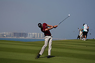 Thomas Detry (BEL) on the 9th during Round 3 of the Oman Open 2020 at the Al Mouj Golf Club, Muscat, Oman . 29/02/2020<br /> Picture: Golffile   Thos Caffrey<br /> <br /> <br /> All photo usage must carry mandatory copyright credit (© Golffile   Thos Caffrey)