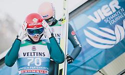 31.12.2019, Olympiaschanze, Garmisch Partenkirchen, GER, FIS Weltcup Skisprung, Vierschanzentournee, Garmisch Partenkirchen, Qualifikation, im Bild Philipp Aschenwald (AUT) // Philipp Aschenwald of Austria during the Four Hills Tournament of FIS Ski Jumping World Cup at the Olympiaschanze in Garmisch Partenkirchen, Germany on 2019/12/31. EXPA Pictures © 2019, PhotoCredit: EXPA/ JFK