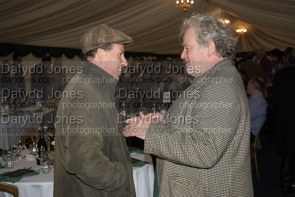 VISCOUNT LINLEY; JULIAN BANNERMAN, The Heythrop Hunt Point to Point. Cocklebarrow. 24 January 2016
