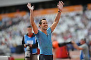French pole vaulter Renaud Lavillenie during the Sainsbury's Anniversary Games at the Queen Elizabeth II Olympic Park, London, United Kingdom on 25 July 2015. Photo by Mark Davies.