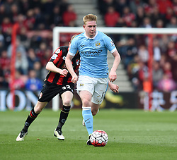 Kevin De Bruyne of Manchester City - Mandatory by-line: Paul Knight/JMP - 02/04/2016 - FOOTBALL - Vitality Stadium - Bournemouth, England - AFC Bournemouth v Manchester City - Barclays Premier League