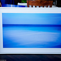 Mar de Azules. 120 x 100 cm. Limited edition Fine Art Photography, pigment ink giclée print, dated and signed