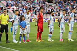 June 7, 2017 - Nice, Alpes-Maritimes, France - The players of Uruguay during the international friendly between Italy and Uruguay at Allianz Riviera stadium on June 7, 2017 in Nice, France. (Credit Image: © Massimiliano Ferraro/NurPhoto via ZUMA Press)