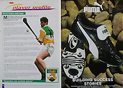 All Ireland Senior Hurling Championship - Final, .10.09.2000, 09.10.2000, 10th September 2000, .10092000AISHCF,.Senior Kilkenny v Offaly,.Minor Cork v Galway,.Kilkenny 5-15, Offaly 1-14, .Puma,
