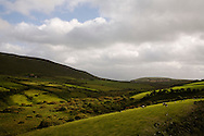 Sunlight shines through clouds near Dingle, Co. Kerry, Ireland. on Thursday, July 5, 2007. (Photo/John Froschauer).