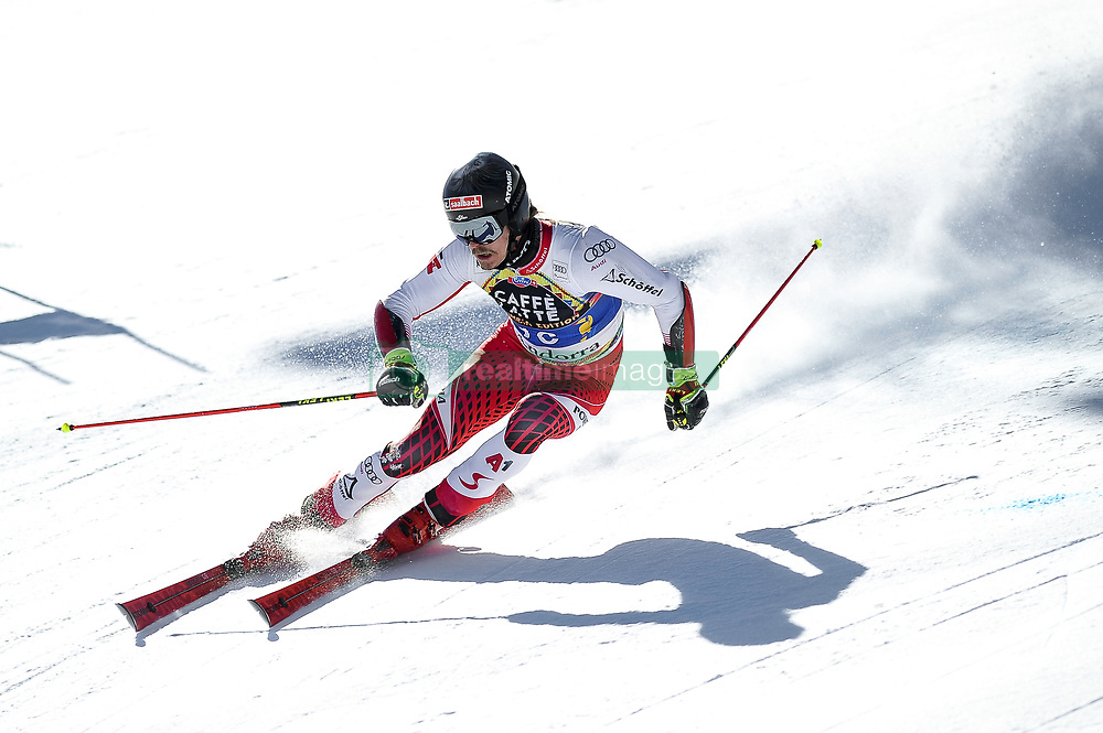 March 16, 2019 - El Tarter, Andorra - Cedric Noger of Switzerland Ski Team, during Men's Giant Slalom Audi FIS Ski World Cup race, on March 16, 2019 in El Tarter, Andorra. (Credit Image: © Joan Cros/NurPhoto via ZUMA Press)