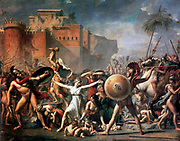 Jaques Louis David, 'The Sabines'