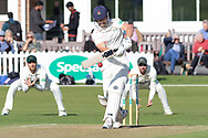 Dane Vilas batting during the Specsavers County Champ Div 2 match between Leicestershire County Cricket Club and Lancashire County Cricket Club at the Fischer County Ground, Grace Road, Leicester, United Kingdom on 25 September 2019.