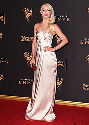 LOS ANGELES - SEPTEMBER 9:  Julianne Hough at the 2017 Creative Arts Emmy Awards at the Microsoft Theater on September 9, 2017 in Los Angeles, California. (Photo by Scott Kirkland/PictureGroup)