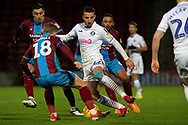 Wycombe Wanderers midfielder Nick Freeman (22) during the EFL Sky Bet League 1 match between Scunthorpe United and Wycombe Wanderers at Glanford Park, Scunthorpe, England on 29 December 2018.