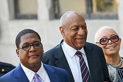 June 12, 2017 - Norristown, Pennsylvania, U.S - BILL COSBY and CAMILLIE COSBY, walk up to the court house in Montgomery county to attend his sexual assault trial (Credit Image: © Ricky Fitchett via ZUMA Wire)