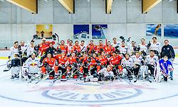 21.04.2016, Red Bull Akademie, Salzburg, AUT, OeSV, Skisprung, Eishockey Kurs, im Bild Teamfoto // Teamphoto during a Icehockey Training of Austria Skijumping Team at the Red Bull Academy, Salzburg, Austria on 2016/04/21. EXPA Pictures © 2016, PhotoCredit: EXPA/ JFK