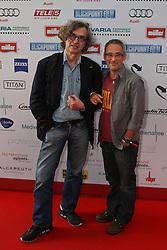 26.06.2010, Praterinsel, Muenchen, GER,TELE 5 Directors Cut,  im Bild Wenders Wim und Levy Dani , EXPA Pictures © 2010, PhotoCredit: EXPA/ nph/  Straubmeier / SPORTIDA PHOTO AGENCY