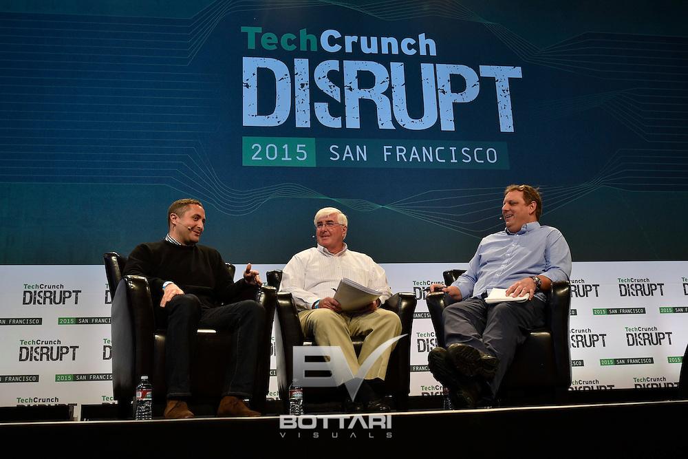 TechCrunch Disrupt SF 2015. Photo by Jeff Bottari