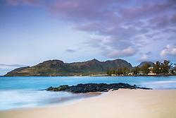 Sunrise at Kalapaki Beach in Lihue Kauai.  Kauai is one of the Hawaiian Islands