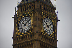 August 21, 2017 - London, England, United Kingdom - People gathered at Parliament Square to hear the Big Ben's world famous 'bongs' for the final time for four years, in London on August 21, 2017. Big Ben today sounded its final tolls before being silenced for four years for health and safety reasons ahead of a multi-million pound refurbishment. (Credit Image: © Alberto Pezzali/NurPhoto via ZUMA Press)