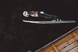 04.03.2021, Oberstdorf, GER, FIS Weltmeisterschaften Ski Nordisch, Oberstdorf 2021, Herren, Skisprung HS137, Qualifikation, im Bild Martin Hamann (GER) // Martin Hamann of Germany during qualification for the ski jumping HS137 competition of FIS Nordic Ski World Championships 2021 in Oberstdorf, Germany on 2021/03/04. EXPA Pictures © 2021, PhotoCredit: EXPA/ JFK