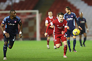 Aberdeen midfielder Scott Wright (25) during the Scottish Premiership match between Aberdeen and Hamilton Academical FC at Pittodrie Stadium, Aberdeen, Scotland on 20 October 2020.