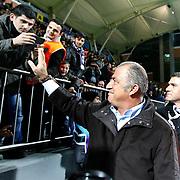 Galatasaray's coach Fatih Terim during their Turkish superleague soccer match Kasimpasa between Galatasaray at the Recep Tayyip Erdogan stadium in Istanbul Turkey on Friday 18 January 2013. Photo by Aykut AKICI/TURKPIX