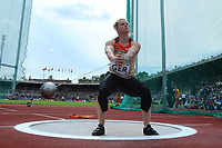 ATHLETICS - TEAM EUROPEAN CHAMPIONSHIPS 2011 - STOCKHOLM (SWE) - 18-19/06/2011 - PHOTO : STEPHANE KEMPINAIRE / DPPI - <br /> HAMMER - WOMEN - BETTY HEIDLER (GER)