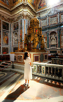 """Light from Heaven - Sistine Chapel - Basilica of Santa Maria Maggiore Rome""... <br />