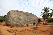 Daytime: A traditional thatched Surui house that hasn't changed design for several generations or hundreds of years<br /><br />An Amazonian tribal chief Almir Narayamogo, leader of 1350 Surui Indians in Rondônia, near Cacaol, Brazil, with a $100,000 bounty on his head, is fighting for the survival of his people and their forest, and using the world's modern hi-tech tools; computers, smartphones, Google Earth and digital forestry surveillance. So far their fight has been very effective, leading to a most promising and novel result. In 2013, Almir Narayamogo, led his people to be the first and unique indigenous tribe in the world to manage their own REDD+ carbon project and sell carbon credits to the industrial world. By marketing the CO2 capacity of 250 000 hectares of their virgin forest, the forty year old Surui, has ensured the preservation, as well as a future of his community. <br /><br />In 2009, the four clans and 25 Surui villages voted in favour of a total moratorium on logging and the carbon credits project. <br /><br />They still face deforestation problems, such as illegal logging, and gold mining which causes pollution of their river systems
