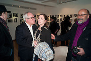GERRY FARRELL; LADY LIZA CAMPBELL; RICHARD YOUNG, The Way We Wore.- Photographs of parties in the 70's by Nick Ashley. Sladmore Contemporary. Bruton Place. London. 13 January 2010. *** Local Caption *** -DO NOT ARCHIVE-© Copyright Photograph by Dafydd Jones. 248 Clapham Rd. London SW9 0PZ. Tel 0207 820 0771. www.dafjones.com.<br /> GERRY FARRELL; LADY LIZA CAMPBELL; RICHARD YOUNG, The Way We Wore.- Photographs of parties in the 70's by Nick Ashley. Sladmore Contemporary. Bruton Place. London. 13 January 2010.