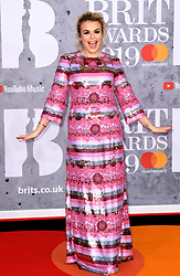 Tallia Storm attending the Brit Awards 2019 at the O2 Arena, London. Photo credit should read: Doug Peters/EMPICS Entertainment. EDITORIAL USE ONLY