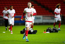 Tommy Rowe as Bristol City wear special warm up shirts in tribute to the Afobe family following the passing of Benik Afobe's baby daughter Amora, aged 2 - Rogan/JMP - 10/12/2019 - Ashton Gate Stadium - Bristol, England - Bristol City v Milwall FC - Sky Bet Championship.
