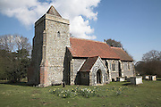 Saint Andrew church, Boyton, Suffolk, England. Dating from the twelfth century but largely rebuilt in the Victorian era.