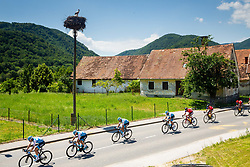 Peloton with stork during 2nd Stage of 26th Tour of Slovenia 2019 cycling race between Maribor and  Celje (146,3 km), on June 20, 2019 in Celje, Maribor, Slovenia. Photo by Vid Ponikvar / Sportida