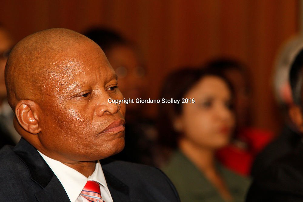 DURBAN - 14 April 2016 - South Africa's chief justice, Judge Mogoeng Mogoeng shortly before delivering the 14th Victoria and Griffiths Mxenge Memorial lecture at the University of KwaZulu-Natal, where he lamented the country's citizens for their preoccupation of seeking personal wealth over the interests of the country. Picture: Allied Picture Press/APP