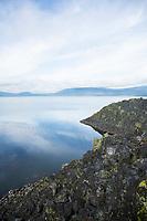 Davis Lake in central Oregon.