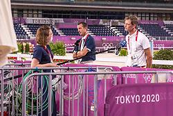 Wathelet Gregory, BEL, Deusser Daniel, GER<br /> Olympic Games Tokyo 2021<br /> © Hippo Foto - Dirk Caremans<br /> 06/08/2021