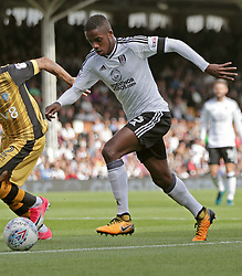 Fulham's Ryan Sessegnon (right) during the Sky Bet Championship match against Sheffield Wednesday at Craven Cottage, west London.