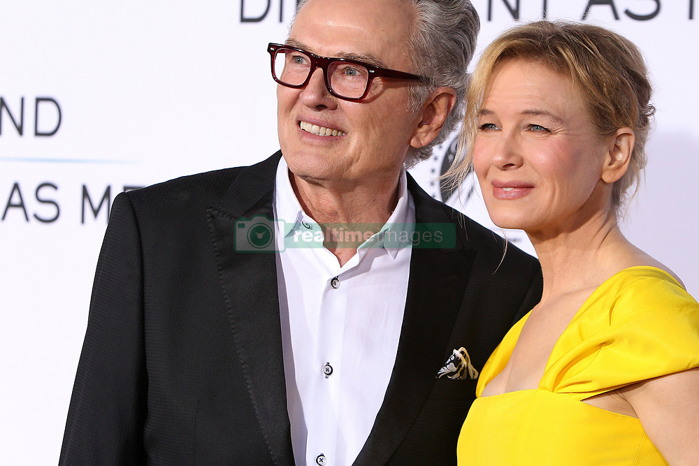 """Ron Hall, Renee Zellweger at the Paramount Pictures And Pure Flix Entertainment's """"Same Kind Of Different As Me"""" Premiere held at the Westwood Village Theatre on October 12, 2017 in Westwood, California, USA (Photo by Art Garcia/Sipa USA)"""
