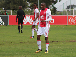 Ajax Cape Town midfielder Bantu Mzwakali in a friendly game v NFD club Cape Town All Stars at Ikamva on August 10, 2017 in Cape Town, South Africa.