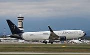 EI-GEP Blue Panorama Airlines Boeing 767-300 at Milan Malpensa (MXP / LIMC)