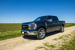 2021 Ford F150 King Ranch Super Crew in Smoked Quartz and Chrome