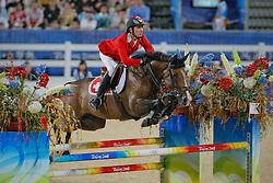 Guerdat Steve (SUI) - Jalisca Solier<br /> Olympic Games Hong Kong 2008<br /> Photo © Dirk Caremans - Hippo Foto